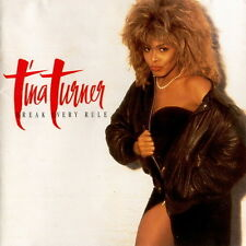 """12"""" LP Tina Rurner Break Every Rule (Typical Male, Two People) 80`s EMI Capitol"""