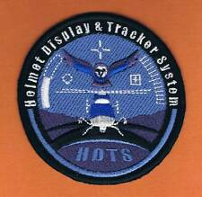 ISRAEL AIR FORCE HELMET  DISPLAY & TRACKER SYSTEM  H D T S  VERY ELEGANT PATCH