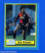 TOP MICRO CARDS - Vallardi 1989 - Figurina-Sticker - PERDOMO - GENOA