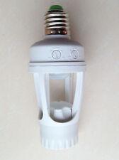 AC 110V 220V infrarouge-PIR capteur de mouvement dirigé E27 Douille de lampe