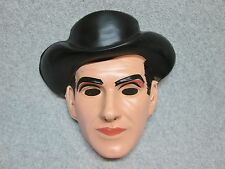 Vintage 1960's BRET MAVERICK  TV-Western  Halloween MaSK Unused MiNt