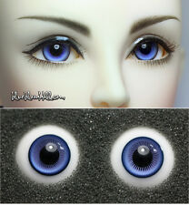 1/3 1/4 bjd 14mm two tone color high quality glass doll eyes dollfie #M-44