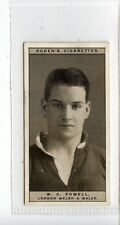 (Jc6553-100)  OGDENS,FAMOUS RUGBY PLAYERS,W.C.POWELL,LONDON WELSH,1926,#23
