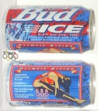 1996 USA OLYMPIC DIVING TEAM BUD ICE BEER CAN ATLANTA SPORT BUDWEISER SWIM DIVE
