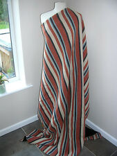 STRIPED BLANKET WOOL...REVERSIBLE! - REDUCED TO CLEAR!!