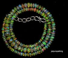 49.00 crt 1 Strand 3.50 mm To 6.90 mm 16 Natural Ethiopian Opal Beads (190)