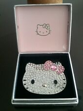 Sephora Hello Kitty By Sanrio Jeweled Rhinestone Mirror Compact 30th Anniversary