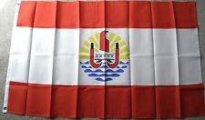 FRENCH POLYNESIA POLYESTER INTERNATIONAL COUNTRY FLAG 3 X 5 FEET