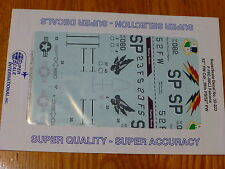 Microscale Decal 1:32 Scale #MS32-223 F-16CJ Falcons: 52nd FW Cdr., 23rd FS/52nd