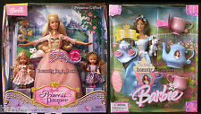 Erika Barbie Doll Tea Party & Anneliese w/ Kelly Giftset Princess and the Pauper