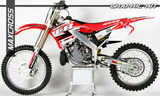 HONDA CR125R CR250R 2000-2001 MAXCROSS GRAPHICS KIT DECALS DECAL FULL KIT