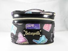 Betsyville By Betsey Johnson Cosmetic/Travel/ International Bag Travel Theme