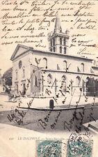 SAINT-MARCELLIN 412 LL l'église timbrée 1904