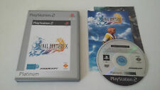 FINAL FANTASY X (10) - SONY PLAYSTATION 2 - JEU PS2 PLATINUM COMPLET