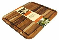 Thanksgiving Carving Board Grain Teak Madeira Mario Batali X-Large Cutting Wood
