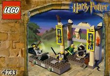 LEGO HARRY POTTER 'DUELLING CLUB' #4733 ALL 4 MINIFIGURES LOCKHART 100% COMPLETE