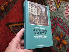 Design City Planning Italy Le Contrade Space Illus Plans Italian Txt Signed 1994