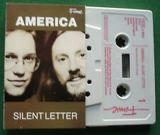 America Silent Letter inc Tall Treasures & All Night + Cassette Tape - TESTED