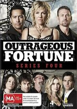 Outrageous Fortune : Series Season 4 (DVD, 2009, 4-Disc Set) BRAND NEW SEALED