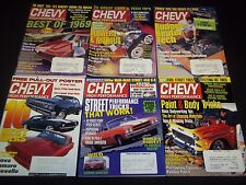 1980S-2000S CHEVY HIGH PERFORMANCE MAGAZINE LOT OF 24 ISSUES - CAR COVER - M 708