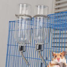 350ml Pet Rat Water Drinking Bottle Hamster Rabbit Dispenser Cylindrical Feeder