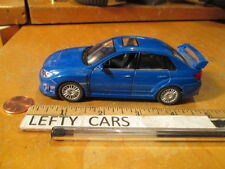 SUBARU WRX STI BLUE CAR (NO. 5827) - LOOSE! NO BOX!