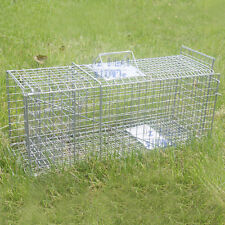 TRAP Humane Possum Feral Cat Rabbit Bird Animal Dog Hare Fox Cage Live Catch AU