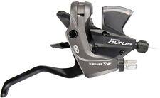 Fahrrad Schalt Brems Hebel Shimano ALTUS 9 Gang STM370 2 Finger schwarz