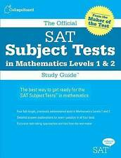 The Official SAT Subject Tests in Mathematics Levels 1 & 2 Study Guide-College B
