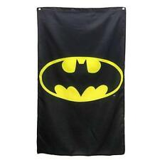 "DC Comics BATMAN Official Licensed 50"" x 30"" BAT SIGNAL Flag BANNER GIFT Dorm"