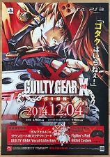Guilty Gear Xrd Sign RARE PS3 PS4 51.5 cm x 73 cm Japanese Promo Poster #2