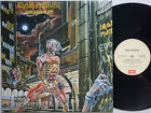IRON MAIDEN Somewhere in Time ORIG Press AUSTRALIA Lp 1986 w/Insert OZ Album