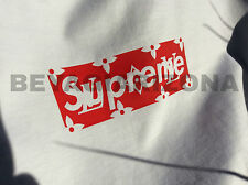 SUPREME x LV Box Logo T Shirt Size L Large RARE - FREE SHIP TO US  High Quality!
