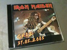 Iron Maiden Double CD Graz Austria The Early Days Tour 2005