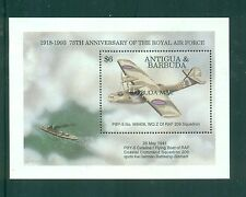 Barbuda 1994 Aviation Catalina Flying Boat Balloon Minisheets SGMS1530  MNH