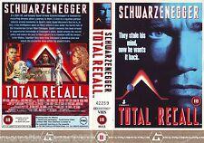TOTAL RECALL Atto di Forza (1990) VHS IMPORT ORIGINALE 1ª EDIZIONE 1990