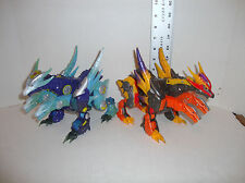 TRANSFORMERS CYBERTRON ULTRA CLASS SCOURGE LOT OF 2 INCOMPLETE