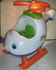 Fisher Price Little People Spin 'n Fly Helicopter with Music & Sound - Fast Ship