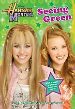 Hannah Montana SEEING GREEN Disney Press BRAND NEW BOOK Gift Quality CASE FRESH!