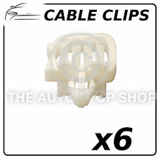 Cable Clips Cable 2,5 To 8 MM Drilling 6,2 x 12,2 MM All Vehicles 1310 6PK