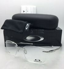 New OAKLEY Eyeglasses WINGFOLD EVS OX5115-0353 Rimless Titanium Chrome Frame