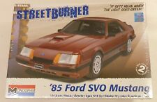 Revell Monogram 1/24 1985 Ford SVO Mustang Model Kit 4276