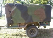 M101 Trailer Top Cargo Cover Tarp 3 Color Camo -  8382966-2 M101A1 M101A2 M101A3