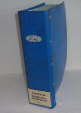 Werkstatthandbuch Ford Fiesta '84 Motor / Getriebe / Bremsen etc. ab Bauj. 1984