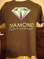 DIAMOND SUPPLY CO T-SHIRT-MEDIUM-  SKATE SHIRT- VANS-DC-HUF-SUPREME-ETNIES