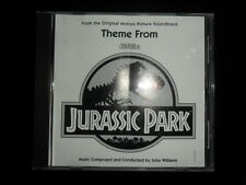 JOHN WILLIAMS - Theme From JURASSIC PARK - U.S. Promo CD 1993 - Steven Spielberg