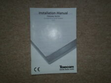 TEXECOM Installation Manual for Odyssey Series Alarm Bells.