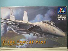 ITALERI 1/48 F-14A TOMCAT PLUS   #837