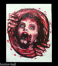 Bloody Horror--PSYCHO VICTIM TOILET COVER STICKER--Halloween Bathroom Decoration