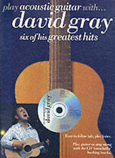 Play Acoustic Guitar with David Gray Songbook Music Book Tabs Lyrics CD S47 S94